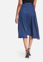dailyfriday - Satin high low skirt with side slits