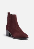 Pieces - Santina suede boot