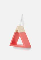 Sixth Floor - Triangle hanging shelf