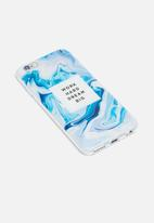 Hey Casey - Work hard dream big - iPhone & Samsung cover