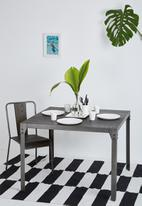 Sixth Floor - Factory square dining table