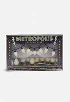 Temerity Jones - Metropolis festoon lights