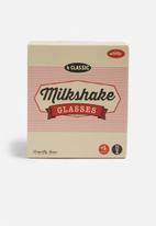 Temerity Jones - Milk shake glasses