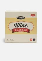 Temerity Jones - Wine glasses