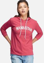 Daisy Street - Hoodie with Manhattan print