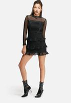 Glamorous - Mesh frill dress