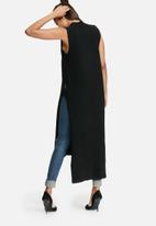 Glamorous - Polar neck longline knit top