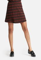 Glamorous - Chevron printed skirt