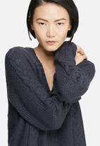 VILA - Riva cable knit dress