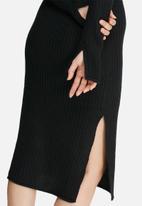 VILA - Rib knit dress
