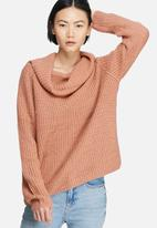Glamorous - Wide neck knit