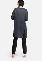 Vero Moda - Altha long slit cardigan