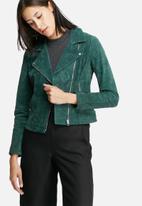 ONLY - Vega suede biker jacket