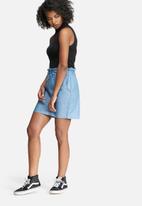 dailyfriday - Short paper bag skirt