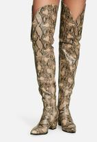 Daisy Street - Viper over the knee boot