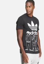 adidas Originals - Block-party trefoil tee