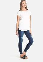 dailyfriday - Ameli raw hem skinny