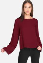 dailyfriday - Fluted sleeve blouse