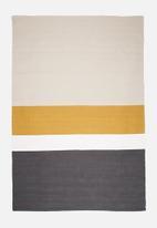 Sixth Floor - Band stripe rug