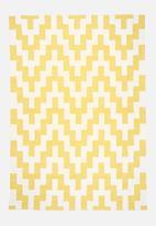 Sixth Floor - Yellow step rug