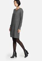 Pieces - Fillac long wool knit
