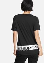 adidas Originals - Graphic trefoil tee