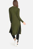 dailyfriday - Kay maxi cardigan with rib trim