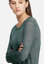 Jacqueline de Yong - Colada long glitter top