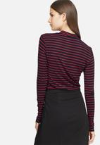 Jacqueline de Yong - Spirit stripe roll neck