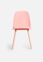 Tommy Chair Pastel Pink Eleven Past Apartment