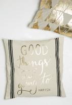 Sixth Floor - Good thing cushion cover