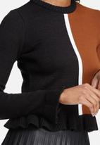 dailyfriday - Colourblocked knitwear