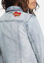 ONLY - Chris badge denim jacket