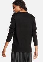 ONLY - Patch long knit