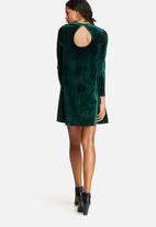 ONLY - Mica velvet dress