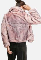 Glamorous - Short faux fur coat