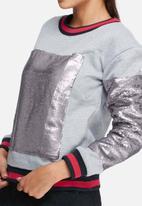Glamorous - Shimmer sweat top