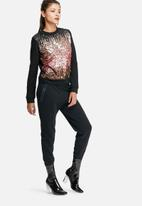 Glamorous - Ombre sequin top