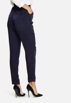Missguided - Satin cigarette trousers