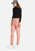Missguided - Tab ankle detail cigarette trousers