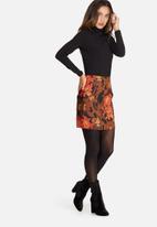 Missguided - Jacquard mini skirt