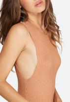 Missguided - Drop armhole ribbed bodysuit