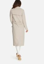 Missguided - Longline military coat