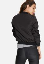 Missguided - Badge bomber jacket
