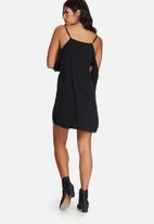 Missguided - Cold shoulder d-ring side detail mini dress