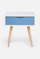 Eleven Past - Blue pedestal