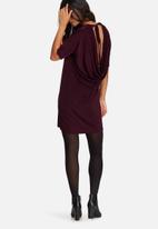 Missguided - Slinky cowl back mini dress
