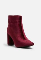 dailyfriday - Velvet boot