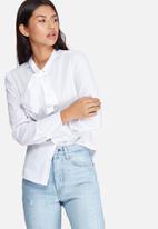 dailyfriday - Kitty bow shirt
