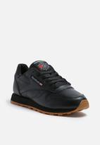 Reebok - Classic Leather Foundation - Black/Gum